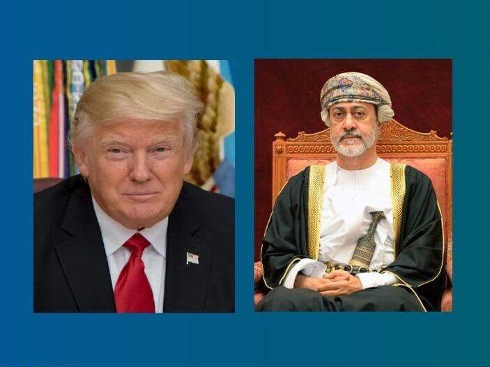 گفت و گوی ترامپ با سلطان عمان