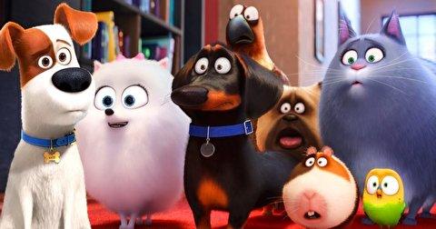 پشت صحنه انیمیشن زندگی پنهان حیوانات خانگی2