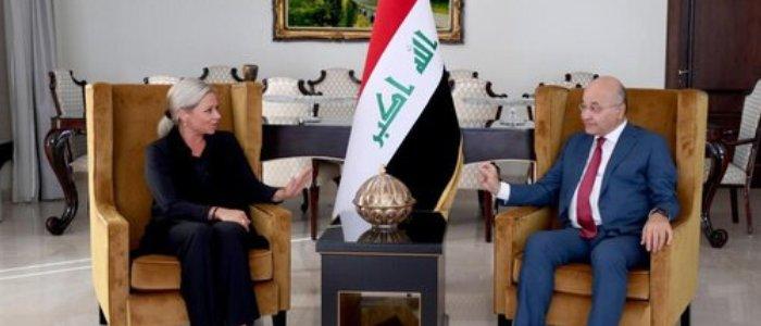 برهم صالح: انتخابات عراق سرنوشتساز و مهم است