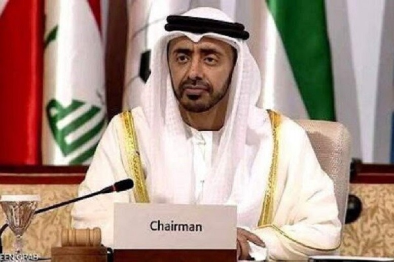 وزیر خارجه امارات متحده عربی وارد پایتخت آمریکا شد