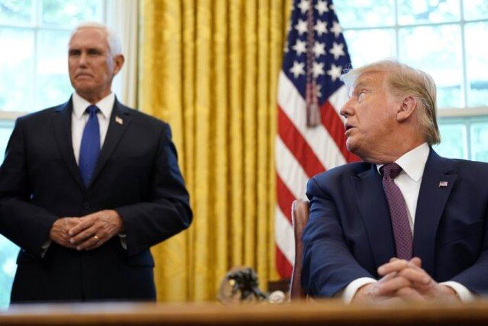 مایک پنس: ترامپ ارتش را بازسازی کرد