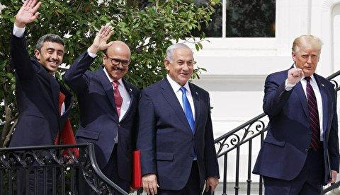 امضای توافق سازش بین امارات، بحرین و اسرائیل