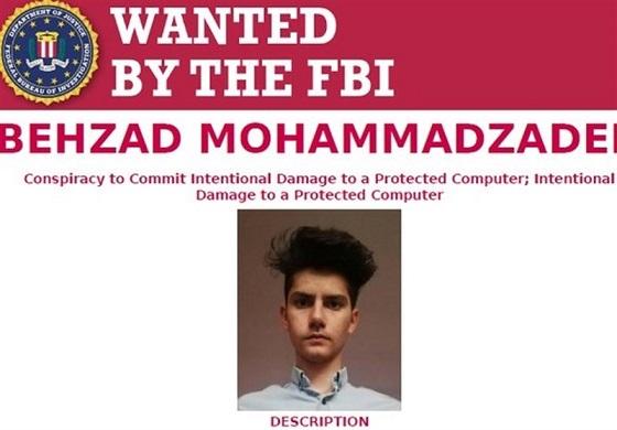 وزارت دادگستری آمریکا به دنبال هکر ایرانی