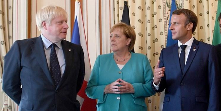 نامه مشترک انگلیس، آلمان و فرانسه به شورای امنیت برای رد ادعای آمریکا