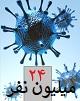 عبور مبتلایان به کووید-۱۹ در جهان از مرز ۲۴ میلیون تن/ کاهش چشمگیر سرعت شیوع بیماری در جهان