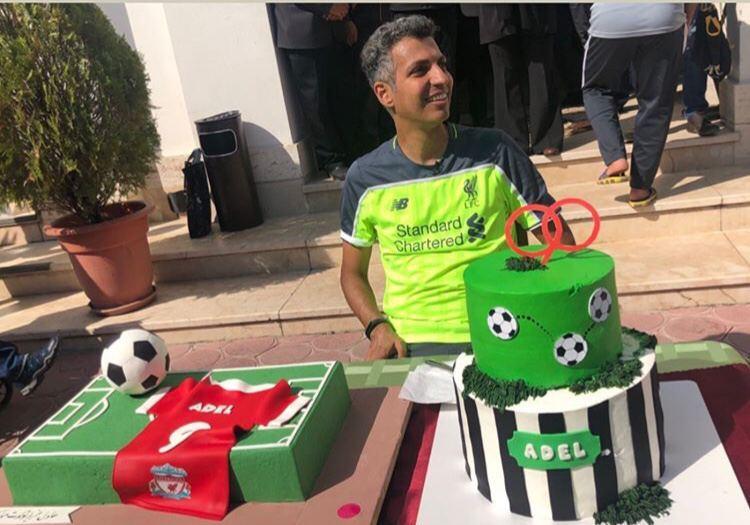 تولد ۴۶ سالگی فردوسیپور با کیک ۹۰