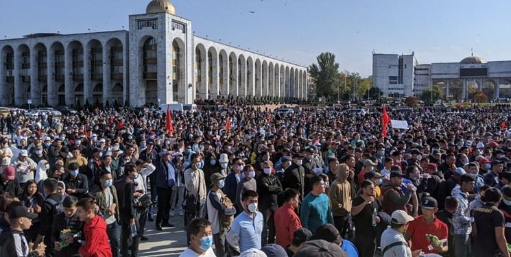 اعتراض به نتایج انتخابات قرقیزستان به خشونت کشید
