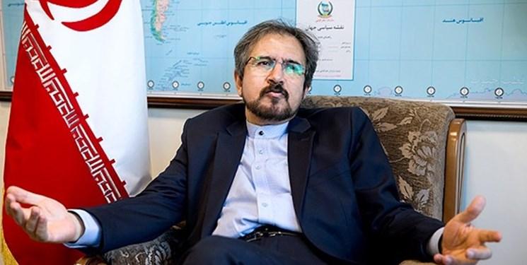 واکنش بهرام قاسمی به اعمال تحریمهای جدید علیه ایران