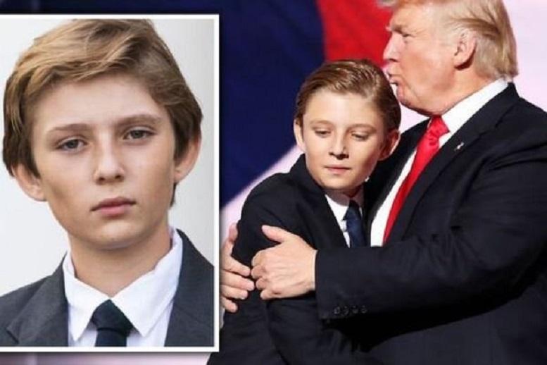 کوچکترین فرزند ترامپ به کرونا مبتلا شد