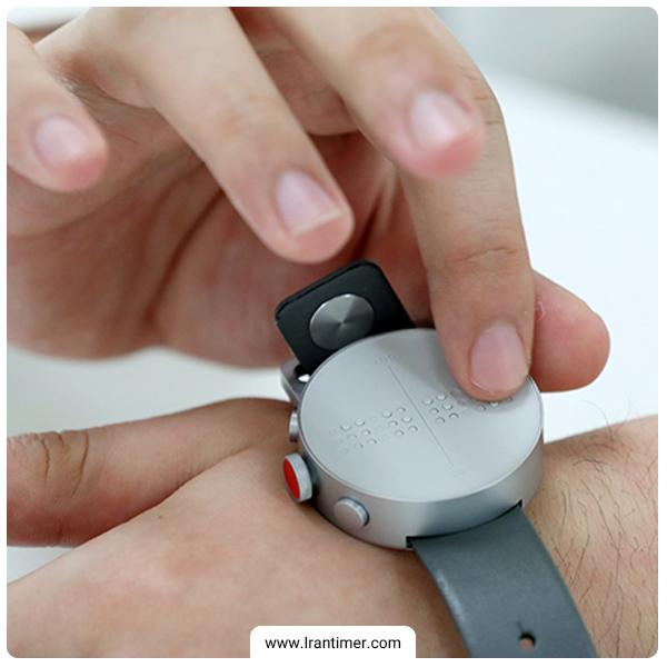 اولین ساعت مچی هوشمند بریل درجهان برای افراد نابینا