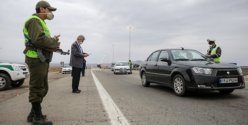 نوع برخوردپلیس با خودروهای غیربومی در ورودی ۵ شهر