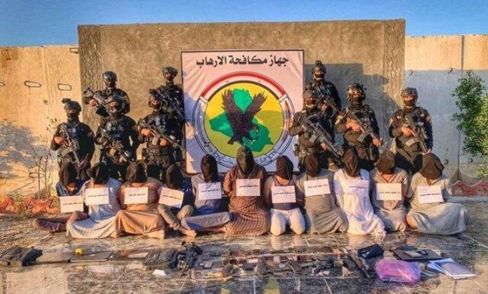 انهدام یک باند تروریستی در صلاح الدین عراق