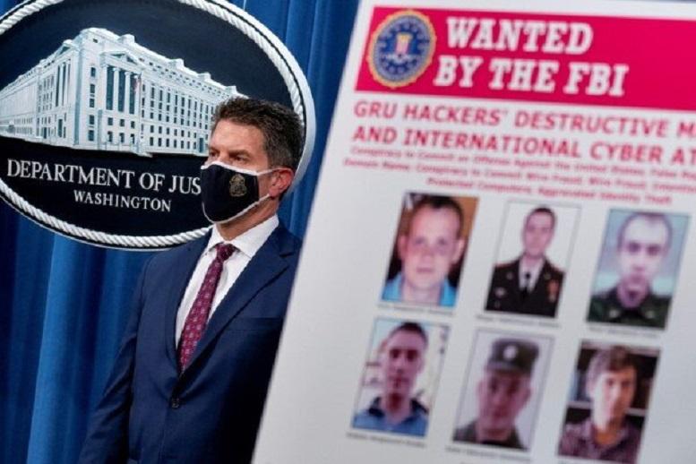 آمریکا ۶ افسر روسیه را به حملات سایبری متهم کرد