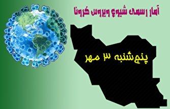 آخرین آمار کرونا تا سوم مهر/ عبور تعداد جان باختگان کووید-۱۹ در ایران از مرز ۲۵ هزار تن