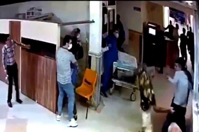 دستگیری قمهکشهای بیمارستان پورسینای رشت