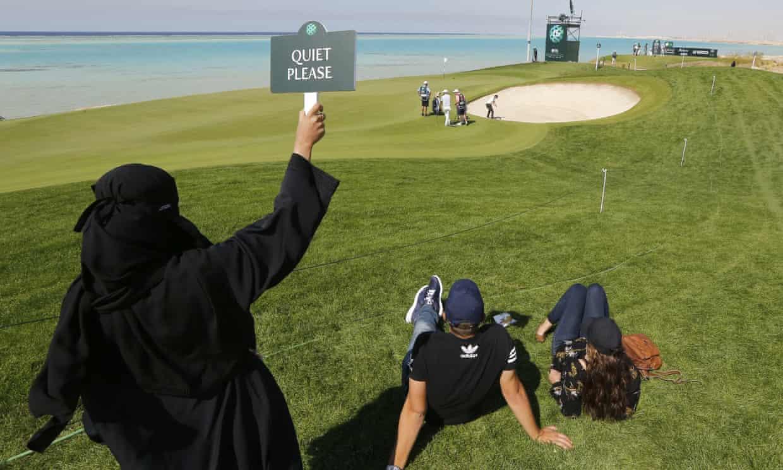 اولین مسابقه گلف زنان در عربستان سعودی