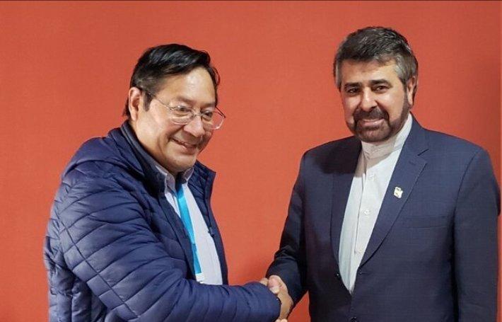دیدار سفیر ایران با رییس جمهور منتخب بولیوی