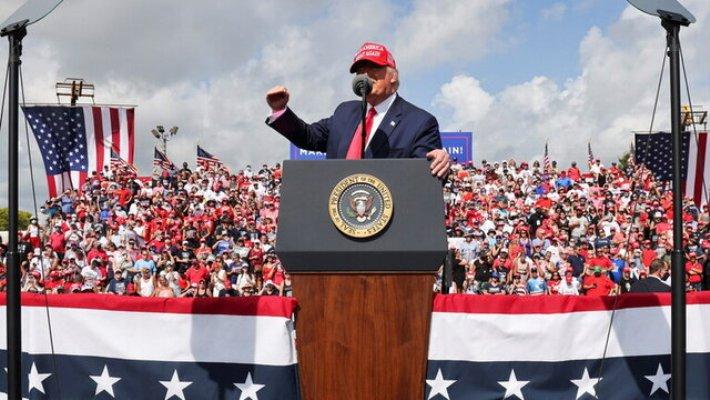 ترامپ: بایدن دیوانه شاید سالها آمریکا را تعطیل کند