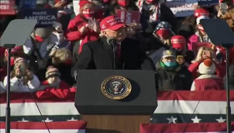ترامپ: در پنسیلوانیا برنده میشویم