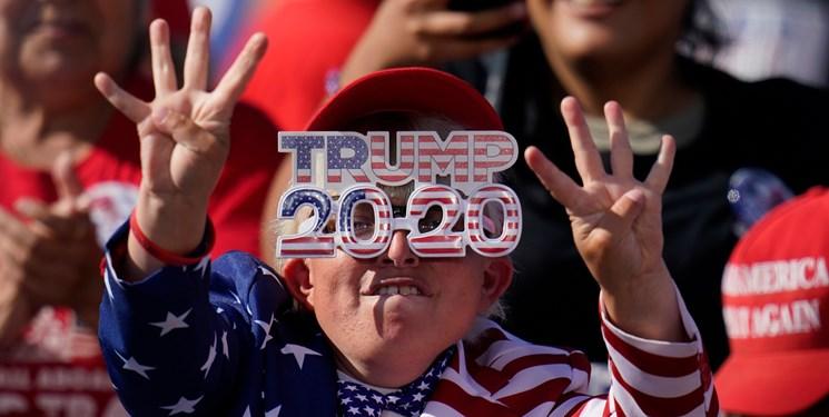 تجمع طرفداران ترامپ و بایدن در فیلادلفیا