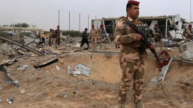 حمله داعش به مرکزی امنیتی در غرب بغداد با ۱۱ کشته