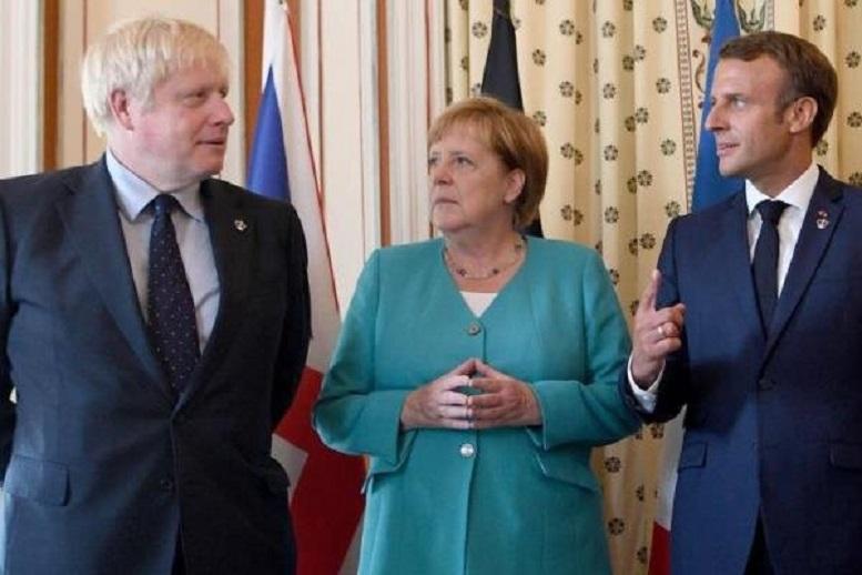 گفتوگو ی تلفنی سران انگلیس، فرانسه و آلمان با بایدن
