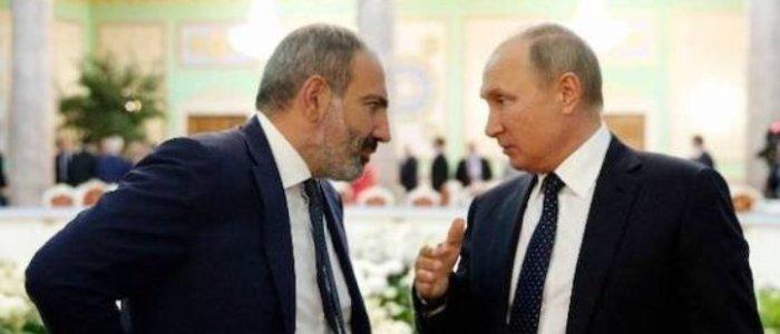 بررسی توافقات صلح توسط پوتین،علیاف و پاشینیان