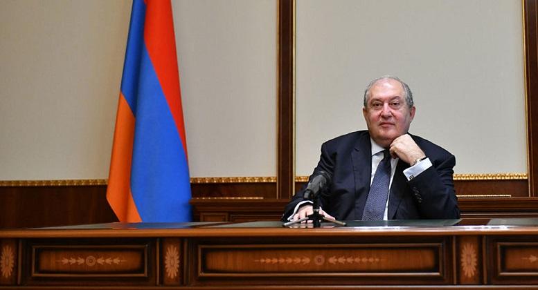 رئیس جمهور ارمنستان خواستار استعفای دولت پاشینیان