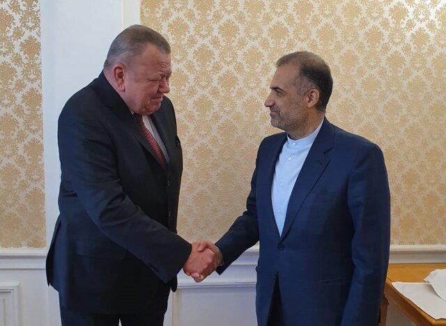 رایزنی سفیر ایران با معاون وزیرخارجه روسیه
