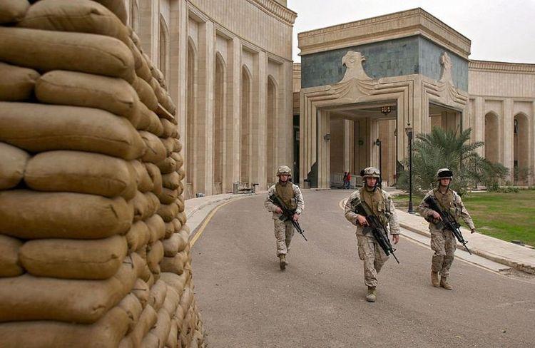 منطقه سبز بغداد هدف اصابت موشک قرار گرفت