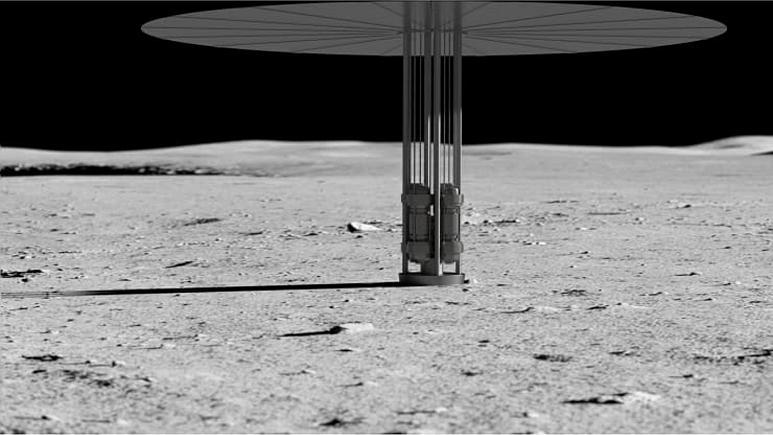 آمریکا روی ماه نیروگاه هستهای میسازد