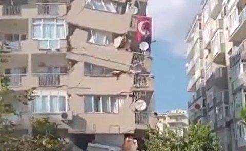 آثار زلزله هفت ریشتری ترکیه