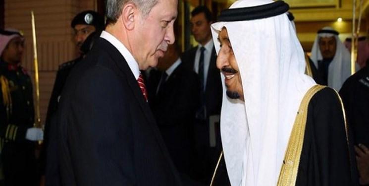 گفتوگوی تلفنی پادشاه عربستان و اردوغان