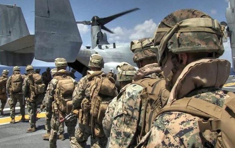 آغاز خروج نخستین گروه نظامیان آمریکایی از عراق