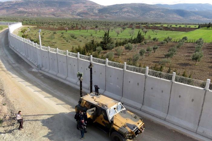 ترکیه ساخت دیوار مرزی با ایران را تکمیل کرد