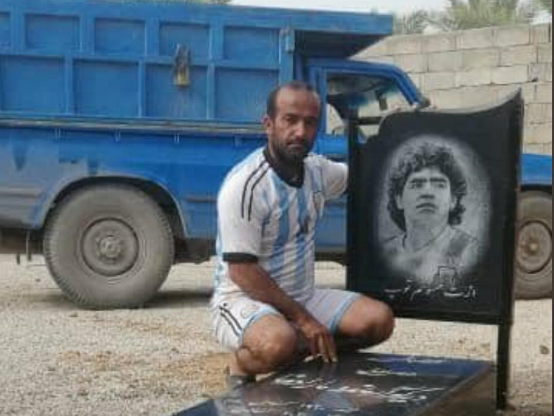 قبر مارادونا در ایران