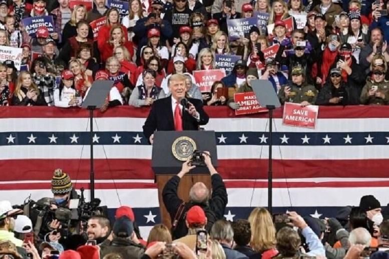 ترامپ بار دیگر مدعی تقلب در انتخابات ۲۰۲۰ آمریکا شد