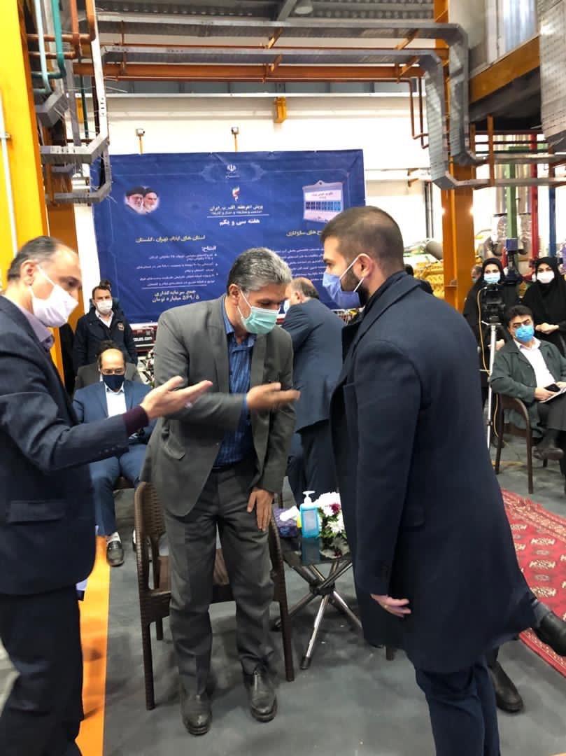 راه اندازی نیروگاه شرکت سهند صنعت رستاک در گرگان