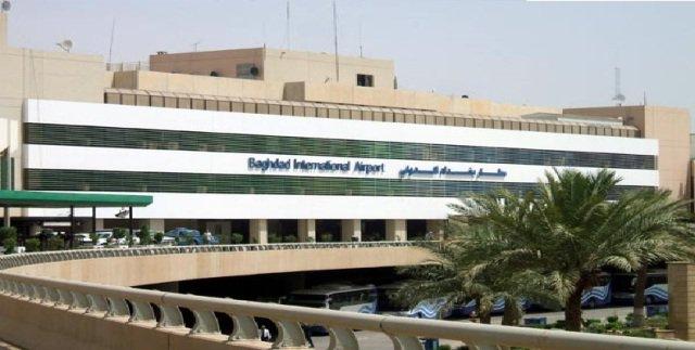 انفجار در فرودگاه بین المللی بغداد