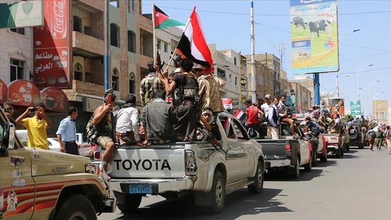 نیروهای مورد حمایت امارات از عدن خارج شدند