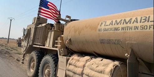 قاچاق نفت سرقتی سوریه به عراق توسط آمریکا