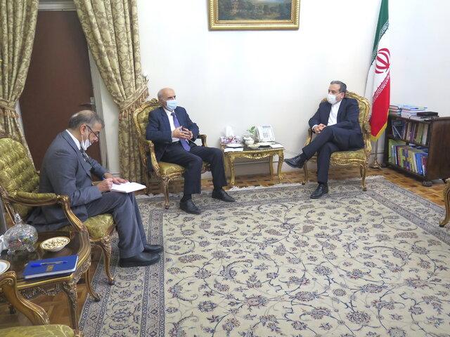 دیدار و گفتوگوی عراقچی با سفیر ارمنستان در ایران