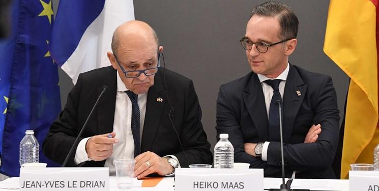 نشست وزرای خارجه آلمان، انگلیس و فرانسه درباره برجام/برگزاری رزمایش نظامی مشترک ۶ کشور عربی در مصر/ واکنش رسمی عربستان به خبر دیدار نتانیاهو و بن سلمان/ نشست وزرای دفاع کشورهای عربی خلیج فارس با حضور قطر
