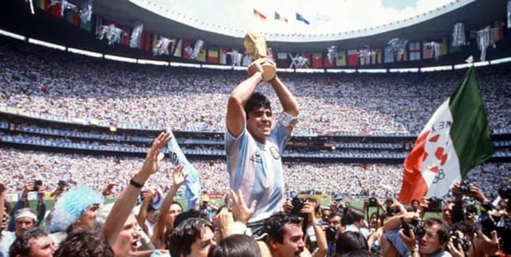 ۳ روز عزای عمومی در آرژانتین بخاطر درگذشت مارادونا