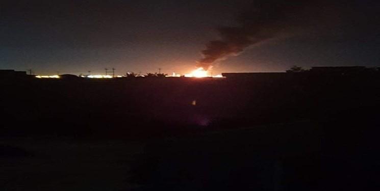 شلیک راکت به پالایشگاه نفتی در صلاحالدین عراق