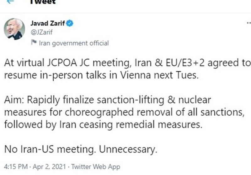 درخواست سناتورهای آمریکایی برای بازگشت فوری واشنگتن به برجام/ گمانه زنی ها درباره عادی سازی روابط ترکیه و اسرائیل/ گزارش رسانه کره ای از آزادی نفتکش این کشور توسط ایران، واکنش ظریف به مذاکره مستقیم ایران و آمریکا
