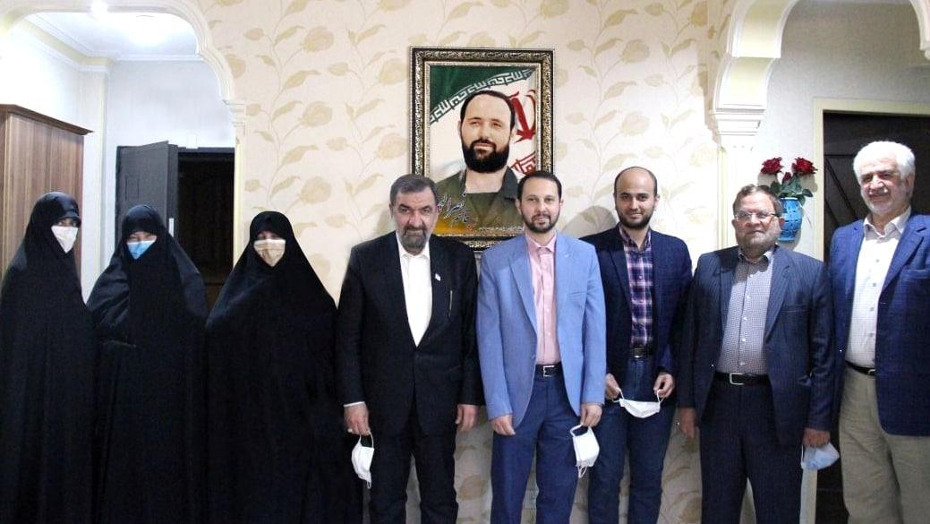 تجلیل رضایی از رشادتهای شهید نصراللهی و قرارگاه حمزه