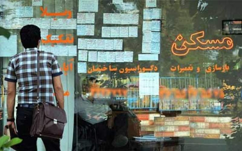 افزایش ۲۵ درصدی اجاره بها در تهران