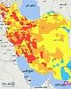 ۴۲ شهر جدید از جمله ۷ مرکز استان قرمز شدند و ۵۴ شهر...