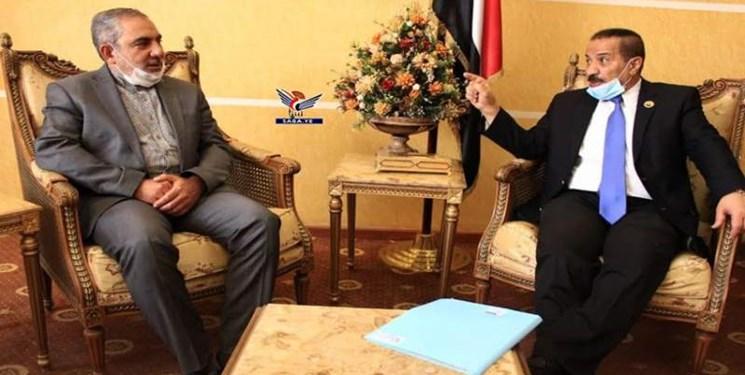 رایزنی سفیر ایران و وزیر خارجه یمن درباره توسعه روابط